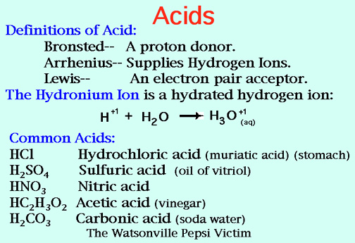 acids and bases lab essay